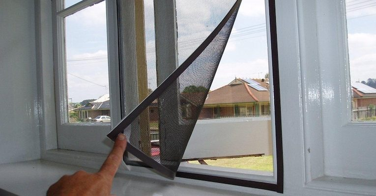 Cửa lưới chống muỗi dạng cố định giá rẻ