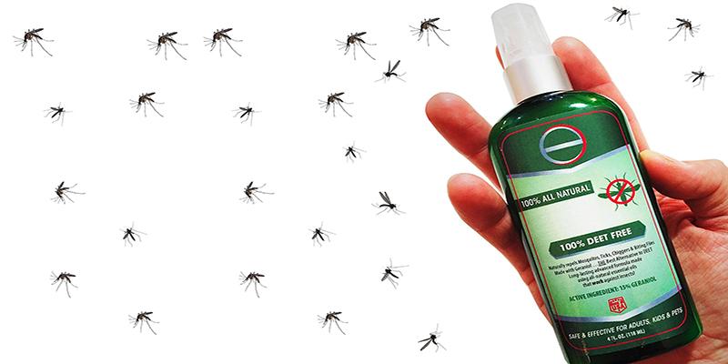 Các loại thuốc xịt muỗi thường có thành phần DEET