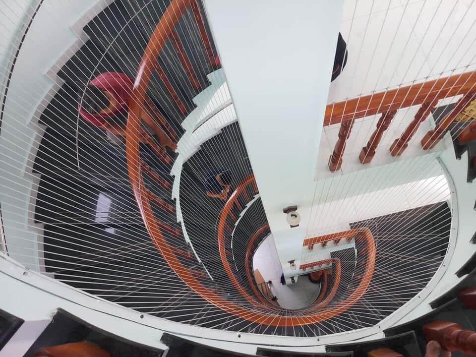 Báo giá lưới bảo vệ cầu thang giá rẻ