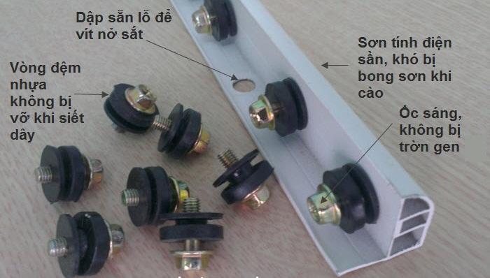 cấu tạo lưới an toàn