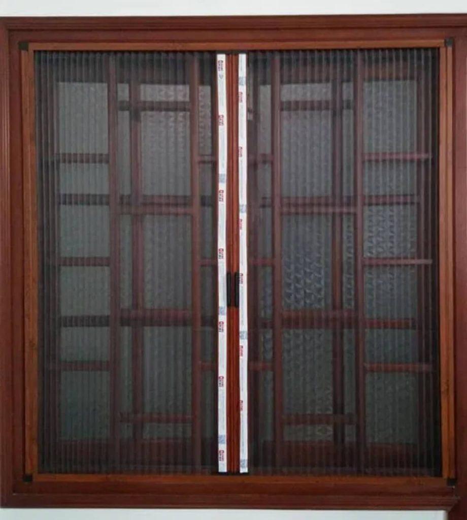 khung nhôm cửa lưới chống muỗi